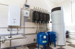 Монтаж системы отопления в коттедже Сергиев Посад