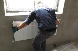 Монтаж стальных радиаторных панелей Сергиев Посад