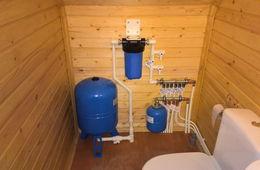 Монтаж водоснабжения в частном доме Сергиев Посад