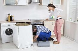 Подключение посудомоечной машины к коммуникациям Сергиев Посад