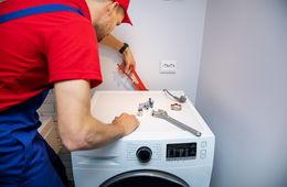 Подключение стиральной машины к коммуникациям Сергиев Посад