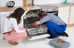 Установка посудомоечной машины в кухню Сергиев Посад