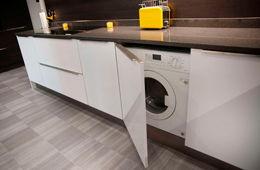 Установка стиральной машины на кухне Сергиев Посад