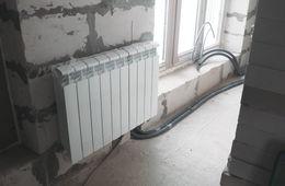 Замена радиаторов отопления в квартире Сергиев Посад
